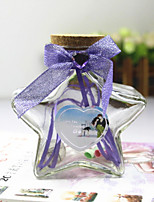 2PCS Rural Wind Small Pure And Fresh And 2 Stars Shinning In Wishing Bottle Lucky Bottle A Birthday Present