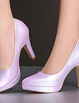 Women's Shoes Stiletto Heel/Platform/Pointed Toe Heels Party & Evening/Dress Pink/Purple/White/Silver