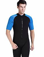 Ultraviolet Resinstant Diving Suits Dive Skins for Men Chinlon/Elastance Short Sleeve