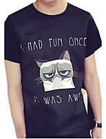 DMI™ Men's Round Neck Print Letter Casual T-Shirt
