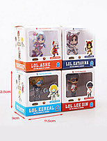 League of LegendsAnime Action Figure 8CM Model Toys Doll Toy