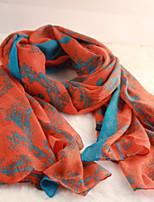 Women European Style Printing Long Scarves Large Shawl Retro Carriage Pattern