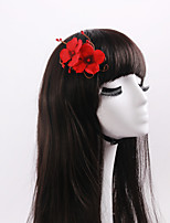 Women's / Flower Girl's Alloy / Fabric Headpiece-Wedding / Special Occasion / Casual / Outdoor Flowers 1 Piece