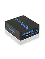HDMI to Composite/S-video  Mini Converter with CE FCC ROSH Certificates