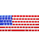 motif de drapeau national langue anglaise peau couvercle du clavier en silicone pour macbook air / macbook pro 13 15 17 nous pouce Version