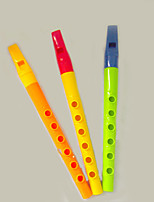 3pcs  Clarinet Orange/Yellow/Green Musical Instruments Music Toys Sets for Kids