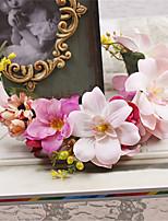 Women's Fabric Headpiece-Wedding / Special Occasion / Outdoor Wreaths 1 Piece
