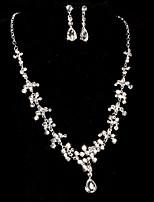 Gioielli Set Per donna Senza pietre / Perle false Lega