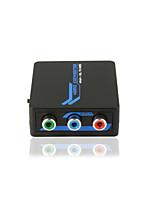 qualità del suono rgb + R / L a HDMI mini convertitore 1080p con CE certificati Rosh FCC