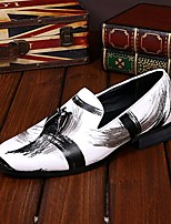 Men's Shoes Amir Pure Manual Oriental Elegance Wedding / Evening Party Comfort Cowhide Leather Loafers