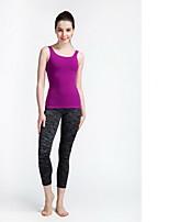 Yoga broek Kleding Onderlichaam Ademend / Sneldrogend Verstelbaar Hoge Elasticiteit Sportkleding Zwart Dames SMOEDOD Yoga