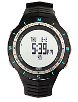 Sports Watch Men's / Ladies' / UnisexLCD / Altimeter / Compass / Pulse Meter / Thermometer / Calendar / Chronograph / Water Resistant /