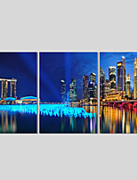 Canvas Set Of 3 Modern Wall Painting Lake Scenic Canvas Art Pictures Print Painting Wedding Home Decor