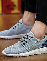 Men's Shoes Casual Linen Fashion Sneakers Black / Blue / Beige
