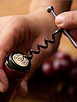 Stainless Steel Wine Bottle Opener Corkscrew Metal Keychain Outdoor Bottle Opener