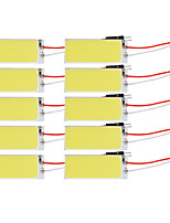 10pcs Camry corolla 12v 10w PANNOCCHIA LED lampada da lettura, lampada porta con super luminoso bianco