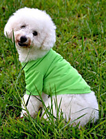 Classic Pure Color Comfortable Pet Clothes