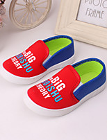 Boys' Shoes Outdoor / Athletic / Casual Tulle Fashion Sneakers Blue / Red