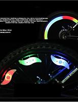Fietsverlichting,wiel lichten / veiligheidslichten-3 Mode Other Lumens Kleuren veranderen button batterijxButton battery*1 Accu