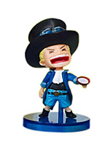 One Piece Anime Action Figure 10CM Model Toy Doll Toy (6 Pcs)