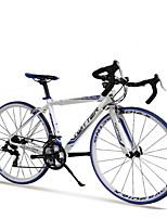 TWITTER® 700C *48cm 14 Speeds  Racing Aluminium Alloy Frame Double Disc Brake Bend Handlebar Road Bike
