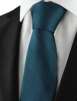 New Striped Blue Mens Tie Suits Formal Necktie Party Wedding Holiday Gift KT1072