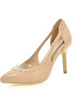 Women's Shoes  Stiletto Heel Heels / Pointed Toe Heels Party & Evening / Dress / Casual Black / Blue / Beige