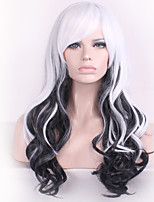 Japanese Original SuFeng Super of Lolita lolita Wigs Mixed Color Black and White Spot Wholesale Cosplay Wig