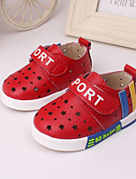 Baby Shoes Outdoor / Casual Leather Loafers Blue / Red / White
