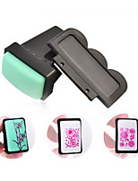 Nail Art Design Image Stamper Scraper Set ,Rectangular Nail Printing Stamping Stamp,DIy Polish Template Nail Tools
