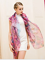 Autumn And Summer Chiffon Scarf Female Sun Oversized Scarves Printed Beach Scarf