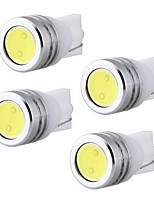 4 pcs. t10 w5w 501 light guided reading lights kennzeichenbeleuchtung white 12v