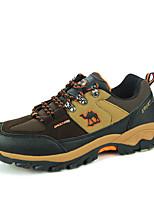 Scarpe da uomo-Sneakers alla moda / Scarpe da ginnastica-Tempo libero / Casual / Sportivo-Scamosciato / Tessuto-Marrone / Verde / Grigio