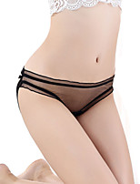 women's Transparent thin like cicada wing perspective mesh briefs