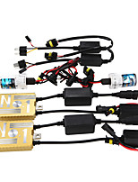 12V55W HID Ballast Decoding Headlight Conversion Kit Bulb H1 3000K 4300K 5000K 6000K 8000K