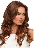 Europe And The United States In The Waves Fluffy Blonde Brown Synthetic Wig