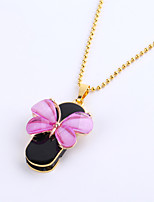 8gb collier papillon bijoux USB 2.0 Flash rotatif memory stick disque u disque ZP-01 / ZP-04 / ZP-09