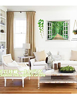 Botanical Wall Decals Landscape Wall Stickers Plane Wall Stickers,PVC 60*90cm