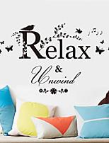 Animaux / Bande dessinée / Mots& Citations / Romance / Mode / Floral / Vacances / Paysage / Forme / Fantaisie Stickers murauxStickers