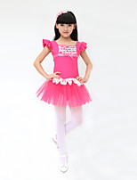 Ballet Children's Fashion Training Cotton / Spandex Bow(s) Dresses Dance Costumes