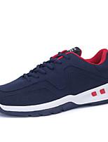 Men's Walking Shoes Microfibre Black / Blue / White