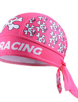 Cheji Women's Skull Cycling Headband Skull pink Cap Bike Bicycle Hat Scarf Bandana Kerchief
