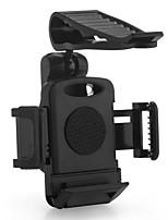 Car Plastic Sun Visor Clamp Mount Holder for Apple Mobile Phone GPS Black