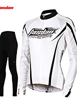 Top / Set di vestiti/Completi / Pantalone / Jersey / Calze-Ciclismo-Per donna-Maniche lunghe-Traspirante / Asciugatura rapida / wicking /