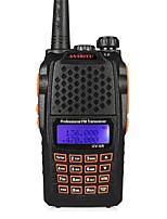 anysecu UV-6R 256ch vhf 136-174 / 400-520mhz doble banda transceptor de radio de alta frecuencia