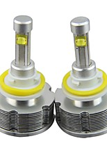 2PC 60W Vios Focus Camry Car Cree LED HeadLight Bulbs Replace without Fan Design
