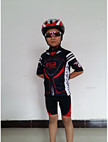 Getmoving Kid's / Unisex Cycling Clothing Sets/Suits Short Sleeve Bike Spring / Summer
