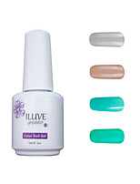 ILuve Gel Nail Polish Set - Pack Of 4 - Long Lasting 3 Weeks Soak Off UV Led Gel Varnish – For Nail Art #4003