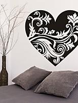 Romance / De moda / Florales Pegatinas de pared Calcomanías de Aviones para Pared,PVC M:42*45cm / L:55*59cm