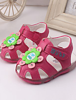 Baby Shoes Dress / Casual Leather Sandals Blue / Pink / Peach